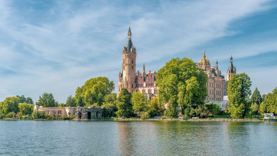 Das Schweriner Schloss.