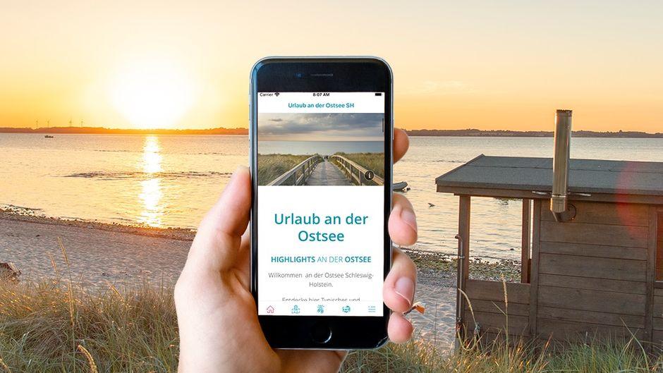 Mit der neuen App des Ostsee-Holstein-Tourismus e. V. kannst du Orte abseits des Massentourismus entdecken.