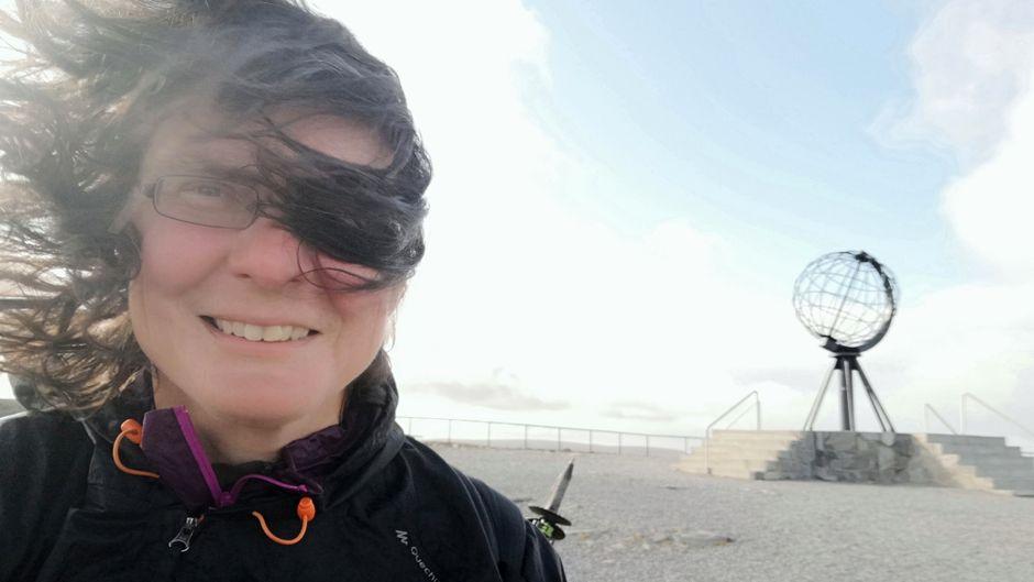Christine Thürmer ist bereits mehr als 54.000 Kilometer zu Fuß gewandert.