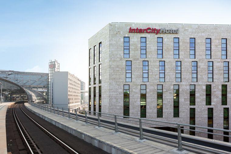 IntercityHotel am Berliner Hauptbahnhof.