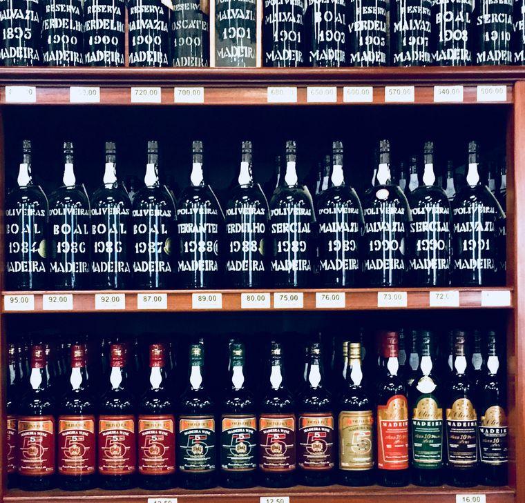 Der Wein aus Madeira ist eine echte Spezialität der Insel.