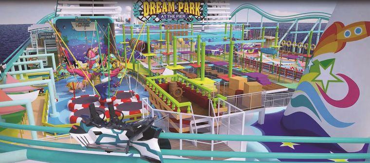 """Der """"Dream Park at the Pier"""" soll Spaß für Groß und Klein bringen."""