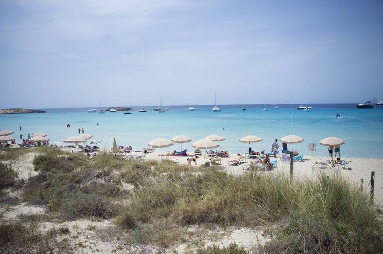 Strand Playa de Ses Illetes, Ibiza