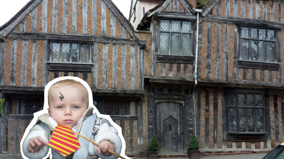 "Das jahrhundertealte De-Vere-Haus in Lavenham diente als Kulisse für Harrys Geburtsort ""Godric's Hollow"" in den ""Harry Potter""-Filmen. (Symbolbild)"