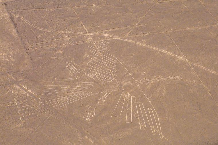 Ein echtes Weltwunder: die Nazca-Linien in Peru.