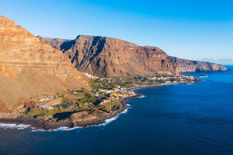 La Gomera: Am wärmsten ist das Wasser im Sommer und in den Monaten April, Mai, September und Oktober.