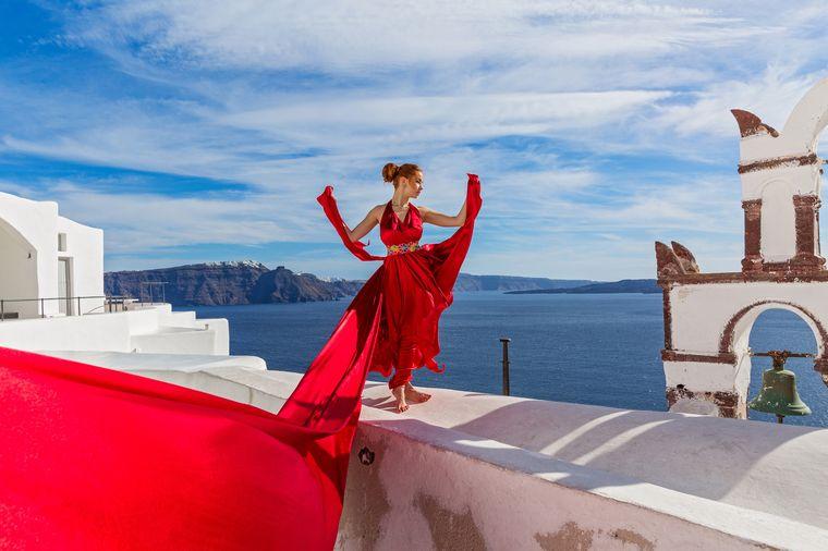 Auf Santorini gibt es jeder Ecke wunderschöne Fotomotive.
