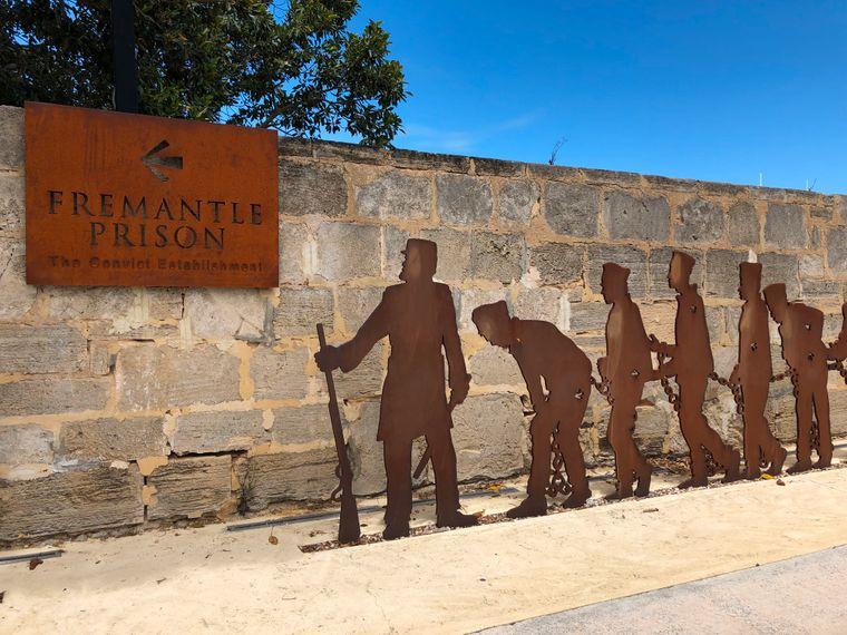 Fremantle Prison war fast 140 Jahre lang ein Gefängnis. Heute ist es ein beliebtes Touristenziel.
