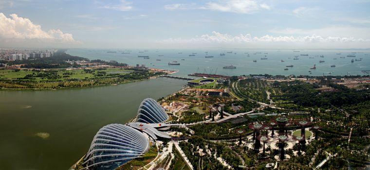 Die Marina Bay in Singapur