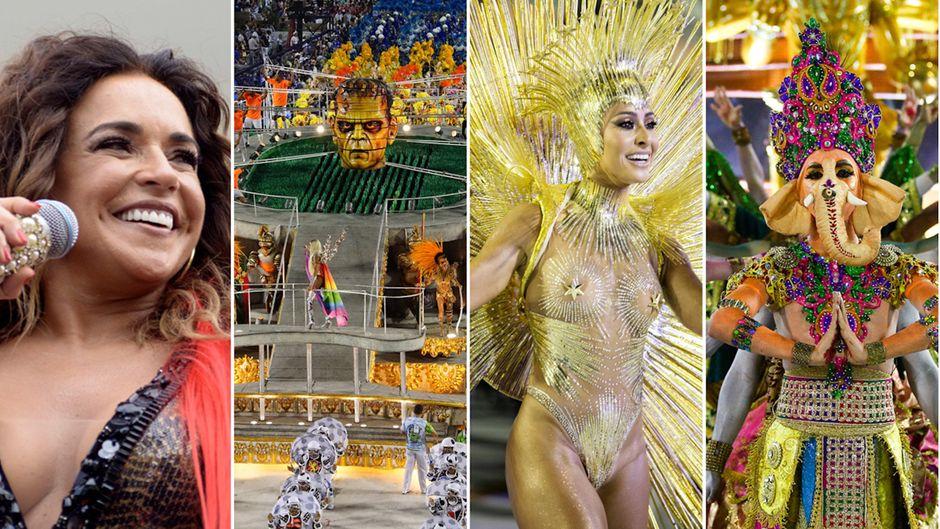 Der Karneval in Brasilien ist bunt, politisch und weltberühmt.
