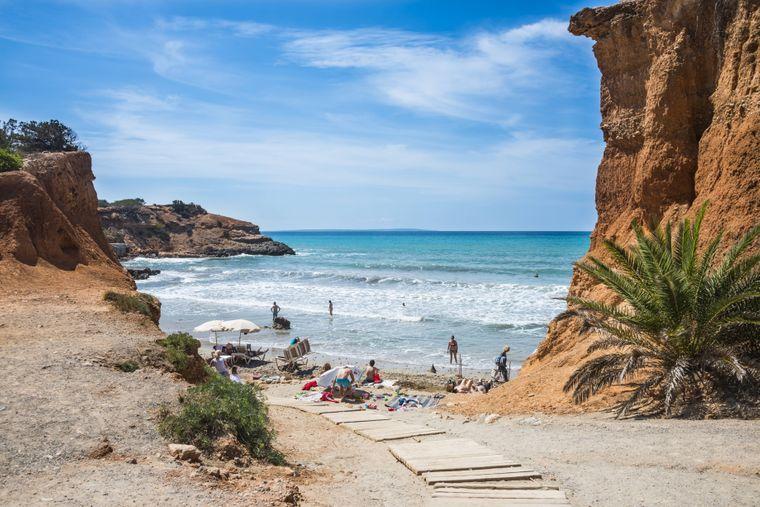 Strand Sa Caleta, Ibiza