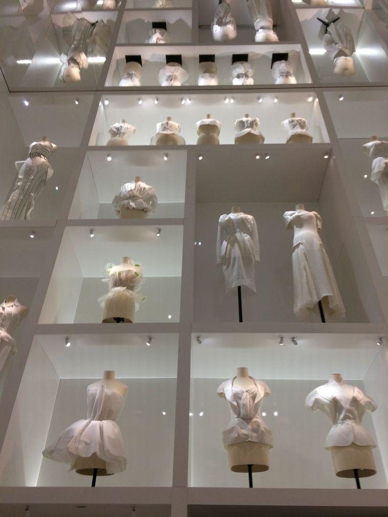 Die Ausstellung vom Designerhaus Dior.