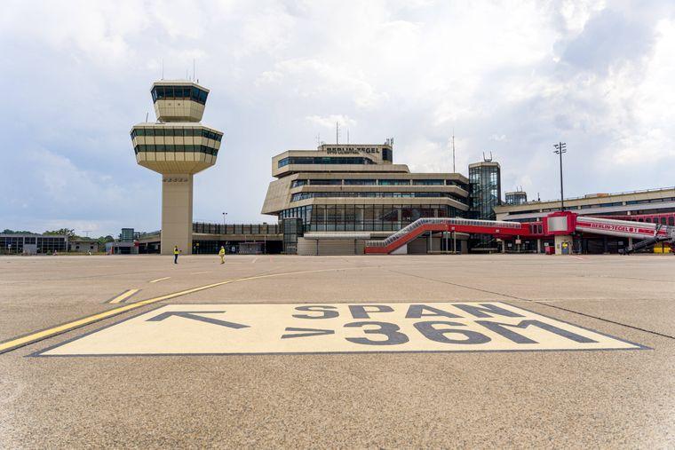 Der Flughafen TXL war bekannt für sein sechseckiges Terminal mit 14 Fluggastbrücken.