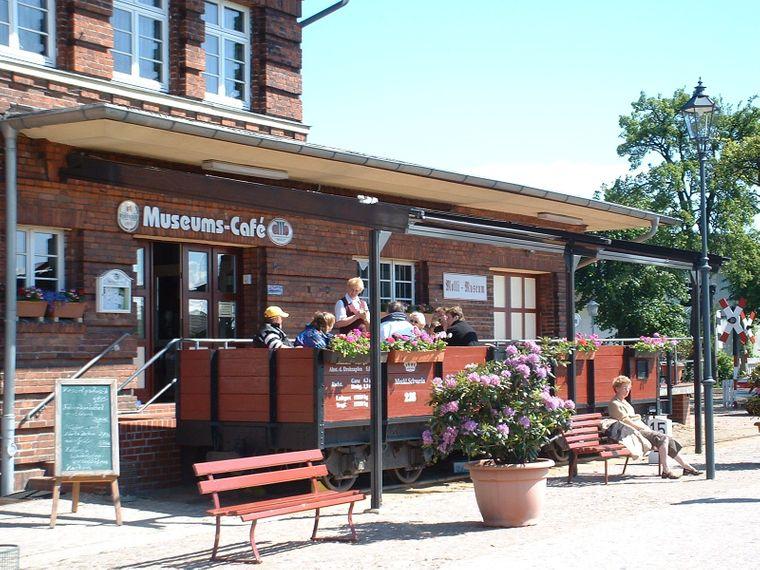 Das Molli Museum befindet sich am Bahnhof Kühlungsborn (West).
