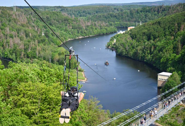 Würdest du dich trauen? Eines der Highlights für Adrenalin-Junkies im Harz.
