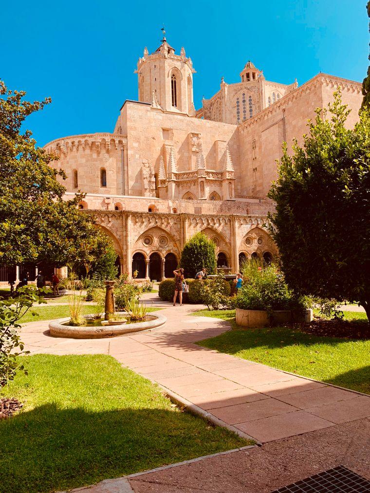 Innenhof der Kathedrale von Tarragona.