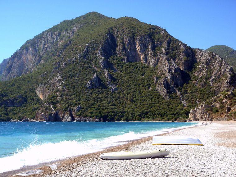 Bucht von Cirali.