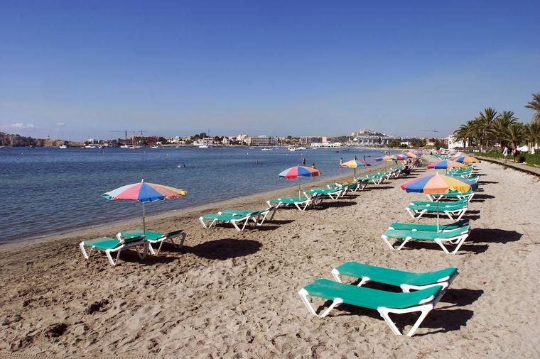 Strand Talamanca, Ibiza