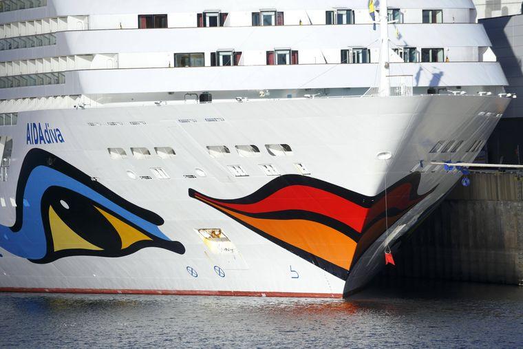 "Kreuzfahrtschiff ""Aida diva."""
