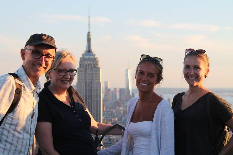 Familien-Foto in New York