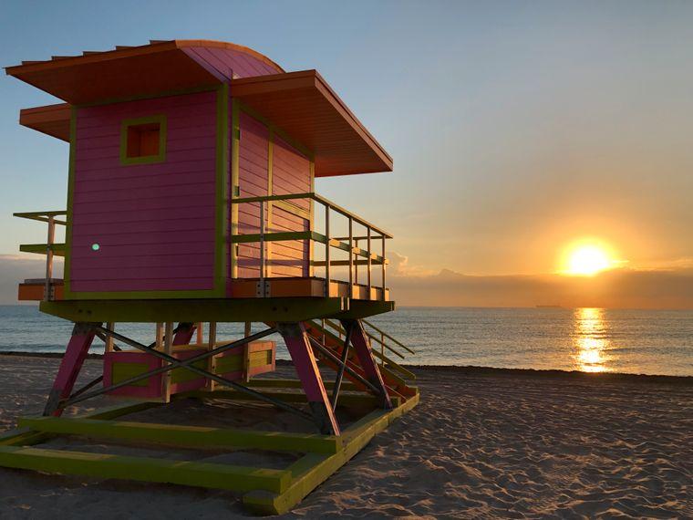 Ob Party-Beach oder eine Oase zum Entspannen – in Miami findet jeder seinen persönlichen Lieblingsstrand.