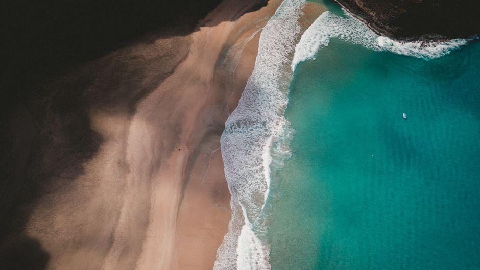 Solche malerischen Buchten sind keine Seltenheit!