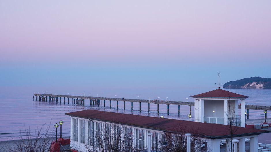 Traumhafter Ausblick auf die ruhige See