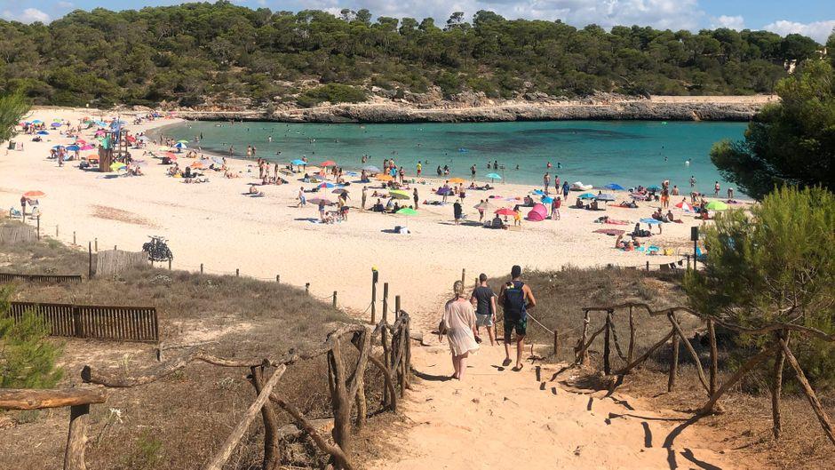 Badeurlaub am Mittelmeer – für viele Urlauber ein Highlight. In Zeiten von Corona müssen Reisende aber flexibel sein. (Symbolfoto)