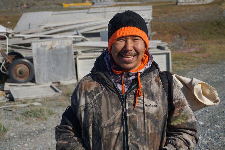 Aaron ist ein Hunter aus Unukhaktok.