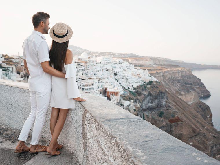 Santorini hat auch eine romantische Seite.