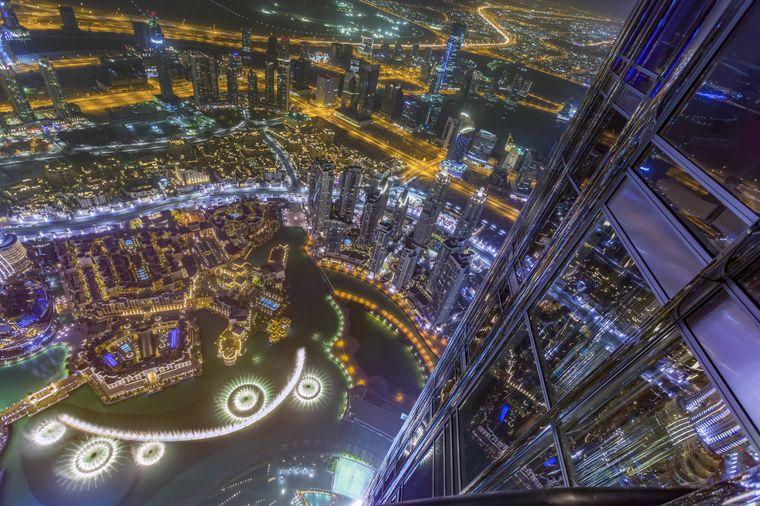 Auf nach oben: Der Burj Khalifa ist das höchste Gebäude der Welt.