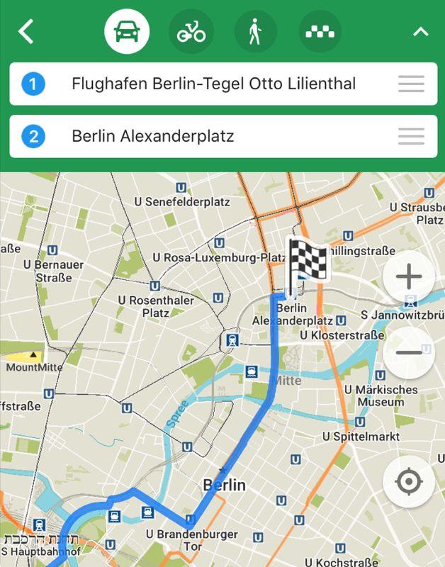 Mit Maps.Me kannst du ohne Probleme offline navigieren.
