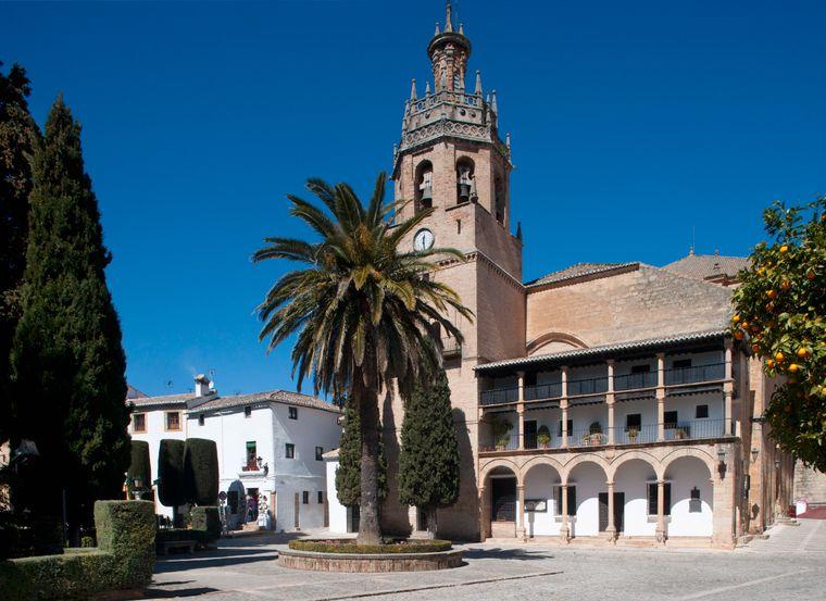 Die Plaza Duquesa de Parcent in Ronda.