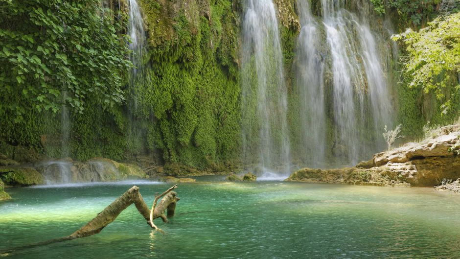 Der Kursunlu Waterfall ist ein eher unbekannter aber durchaus sehenswerter Wasserfall.