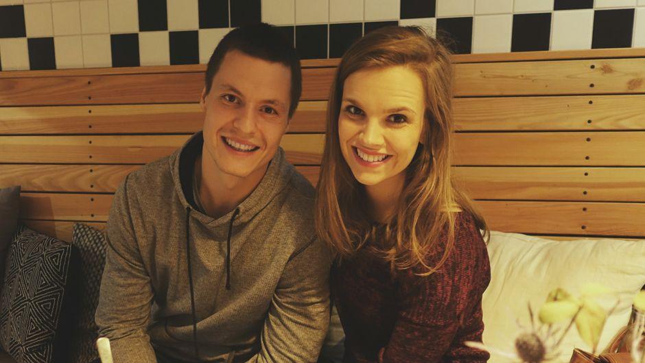 Lena und Oleg freuen sich auf die Weltreise
