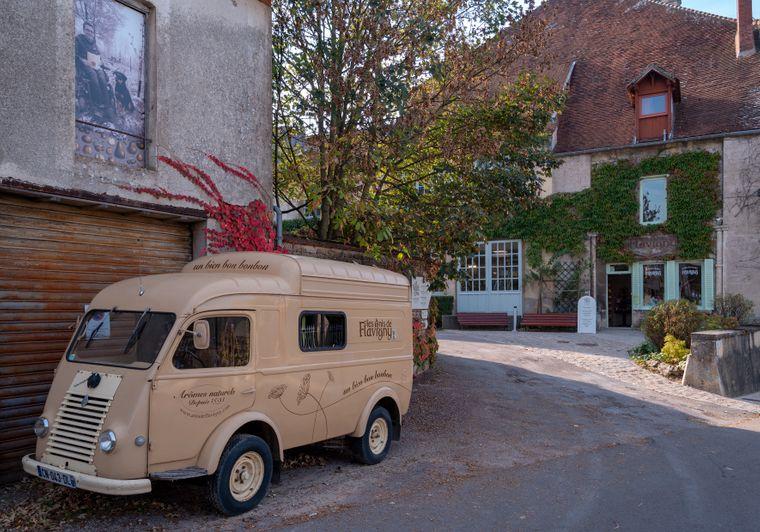 """Flavigny-sur-Ozerain diente einst als Kulisse für den Film """"Chocolat""""."""