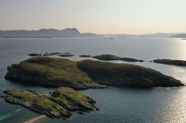 Die Insel Càrn Deas ist nicht bewohnt.