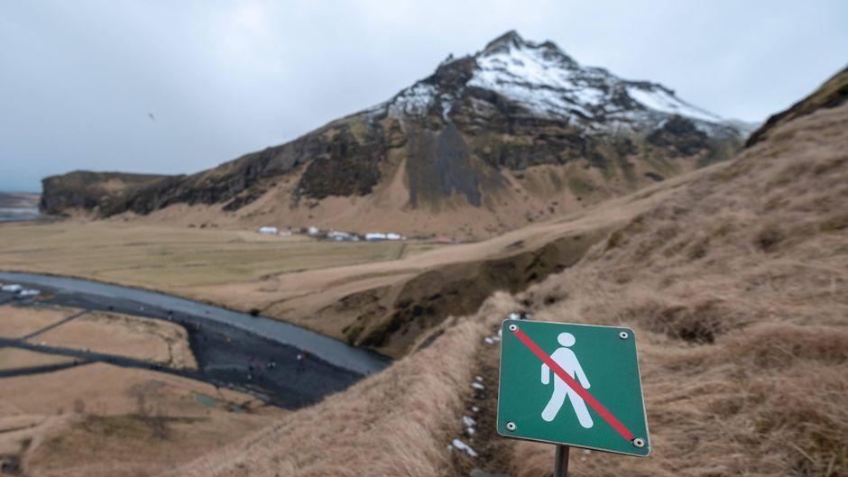 Zum Schutz der Natur müssen immer wieder Orte für Touristen gesperrt werden. (Symbolbild)
