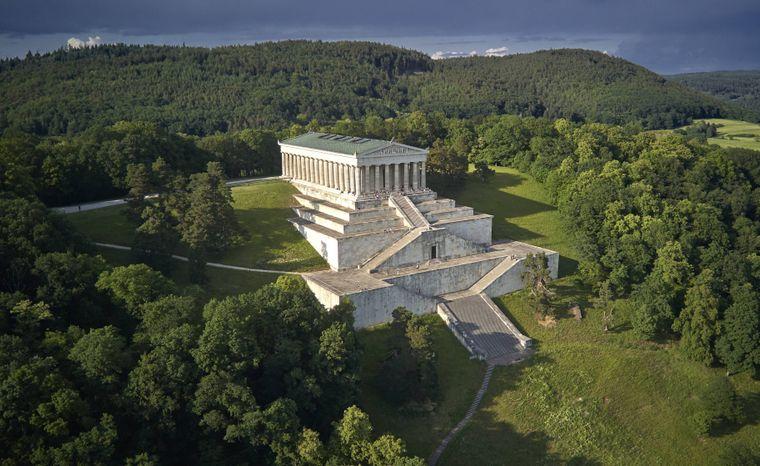 Die Walhalla ist ein bedeutendes Nationaldenkmal.