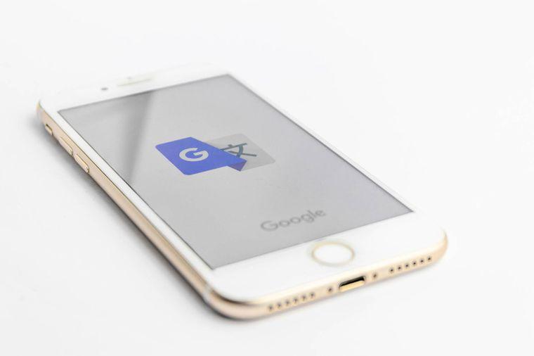 """Den """"Google-Übersetzer"""" gibt es auch im App-Store von Apple."""