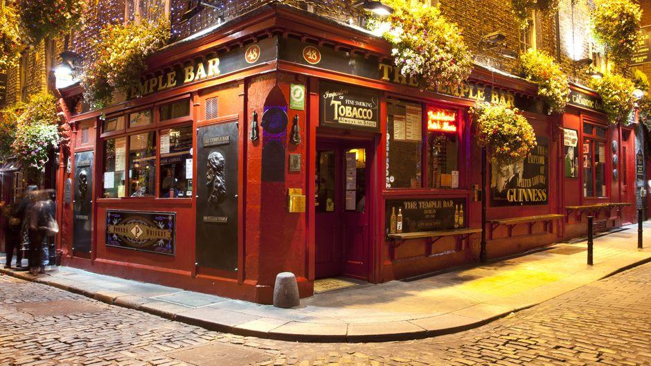 Typisch: Pubs in Dublin.