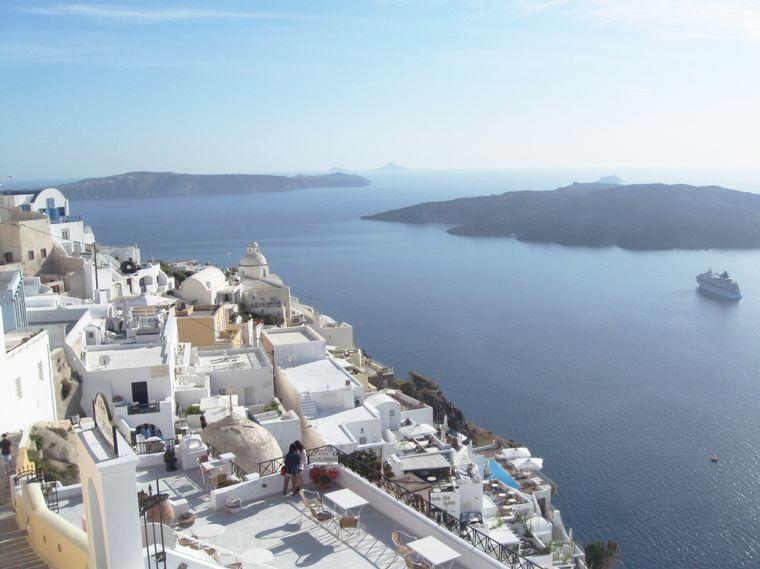 Wunderschön: Die Kykladen-Inseln in Griechenland.