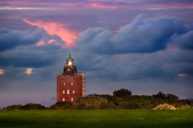 Die Pension im Leuchtturm auf der Insel Neuwerk bietet sieben Zimmer.