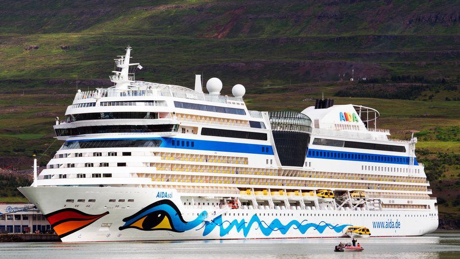 """Auf der """"Norwegens Fjorde""""-Kreuzfahrt mit der """"Aida Sol"""" brach der Norovirus an Bord aus, berichtet ein Passagier. (Symbolfoto)"""