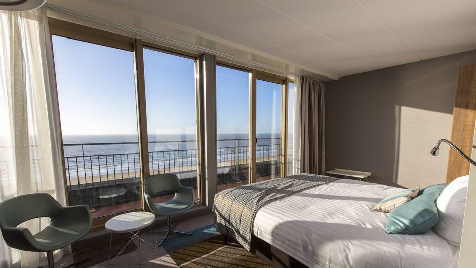 Der direkte Blick aufs Meer ist durch ein Zimmer-Upgrade möglich.