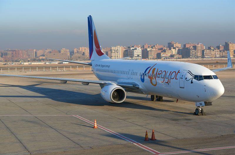 Eine Boeing 737-800 von Fly Egypt musste zum Startflughafen Hurghada zurückkehren. (Symbolfoto)
