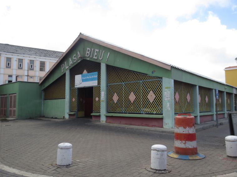 Die alte Markthalle Marsche Bieuw auf Curaçao.