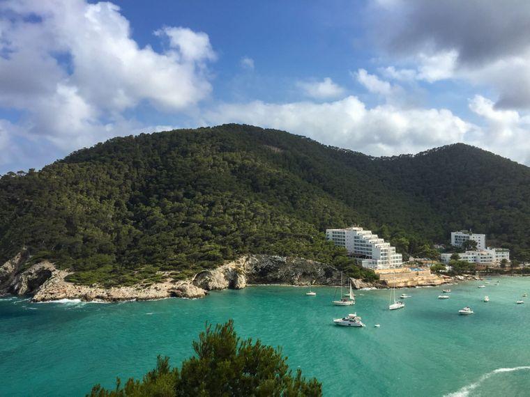 Strand Cala Llonga, Ibiza