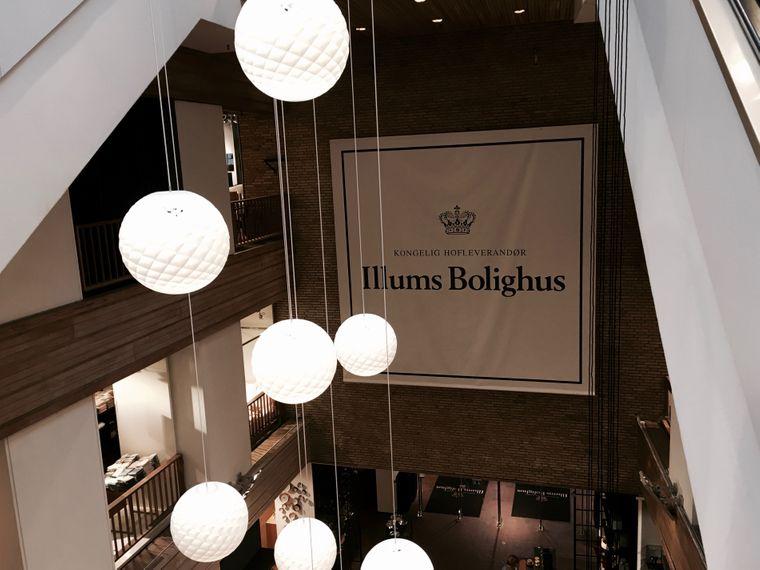 Logo-Präsentation in Illums Bolighus
