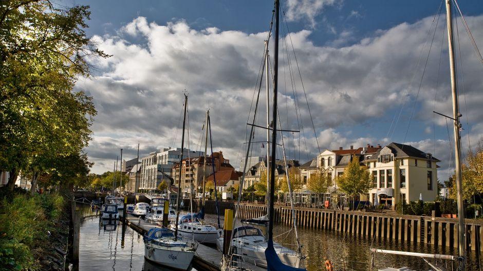 Blick auf den Alten Stadthafen in Oldenburg.OTM, Verena Brandt